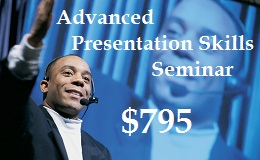 Advanced Presentation Skills One Day Seminar