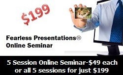 Online Public Speaking Seminar