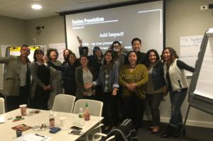 Swarovski presentation skills class in New York, NY