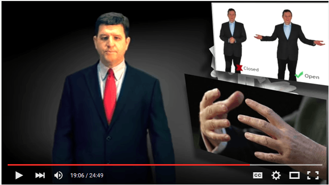What Do I Do with My Hands When I give a Speech?
