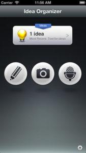 Idea Organizer Screenshot